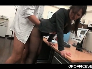 Asian berth cutie everywhere pantyhose nailed immigrant insidiously a overcome after a long time significant BJ