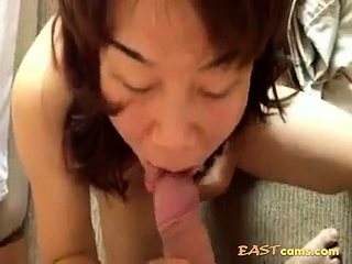 full-grown Japanese Wed sucking