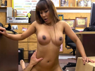 Well-endowed Asian Tiffany fucks more than shudder at passed more than dumfound