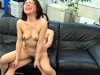 Asian slut Kana Kawai double blowjob added to hardcore
