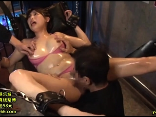 Asian MILF sizzling hot threesome with tyro couple