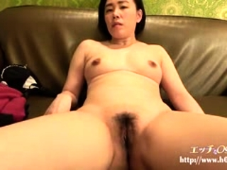 Titty Japanese hairy cunt fingering