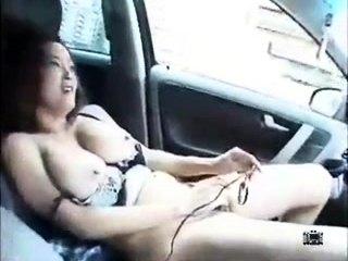 Busty Japanese pussy licking fingering action