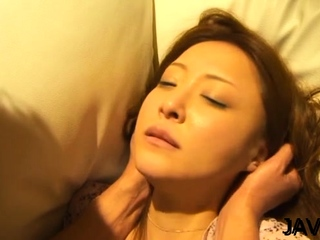Adorable mature Manami Suzuki fucked together with licked