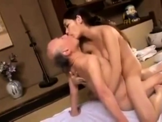 Young Babe Fucks Aged Hairy Man Telsev