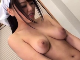 Cute Mao Hamasaki with big tits fucks plus deepthroats