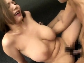 Comely Asian near hard nipples blowjob