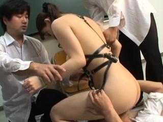 Profligate scenes of fur pie stimulation by a teacher