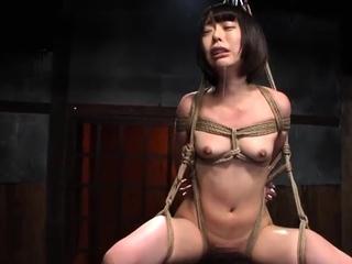 Hardcore unbowdlerized japanese bdsm sex