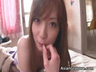 Hot asian cash-drawer hits hammer away shower with an increment of she part5